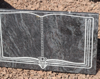 Granite Bible Plaque